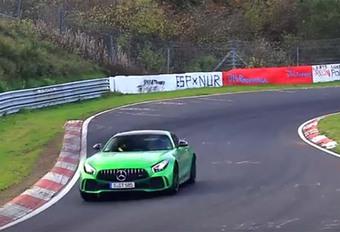 Video: AMG GT GT4 in 'burgerversie'? #1