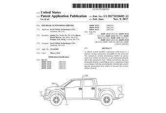 Ford étudie la conduite autonome en tout terrain #1