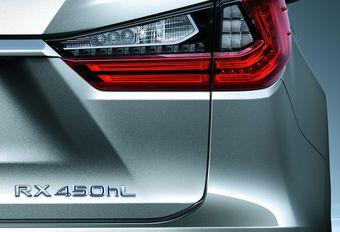 Lexus RX : une version longue à 7 places #1