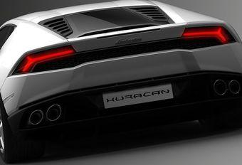 Lamborghini Huracán : 4 roues directrices #1