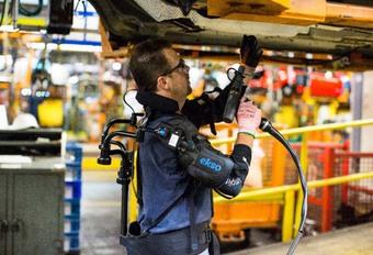 ViDEO – Ford : un exosquelette pour faciliter le travail #1