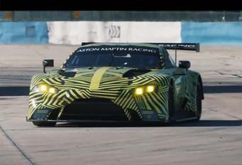 Aston Martin Vantage GTE 2018: ontwikkeling #1