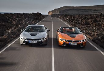 VIDÉO – BMW i8 et i8 Roadster : plus d'autonomie #1