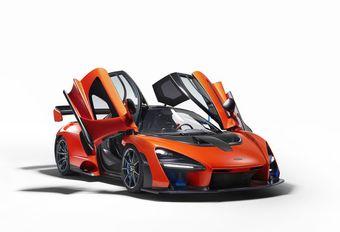 McLaren : des supercars électriques à l'essai #1