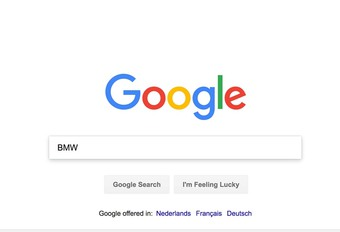 Google: BMW meest opgezochte merk in 2017 #1