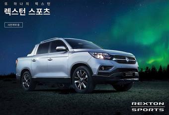 Nieuwe Ssangyong Rexton ook als pick-up #1