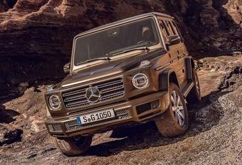 Veel te vroeg op het net: de nieuwe Mercedes G-Klasse #1
