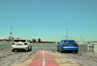 INSOLITE – Audi RS3 ou Mercedes A45 AMG : Qui accélère le plus fort ? #1