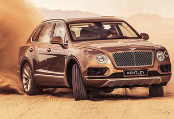 Bentley bestormt Pikes Peak met race-Bentayga #1