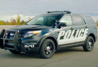 La voiture de police Ford autonome #1