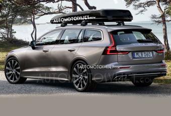 Ook de nieuwe Volvo V60 lekt #1