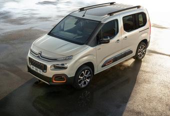 Nieuwe Citroën Berlingo gaat Peugeot Partner en Opel Combo vooraf #1