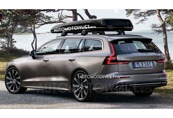 Gims 2018 – Volvo V60 : En fuite avant Genève #1