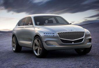 Genesis GV80 : SUV de luxe à hydrogène #1