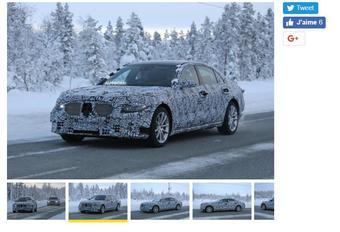 Mercedes S-Klasse: nieuwe generatie al op stap #1