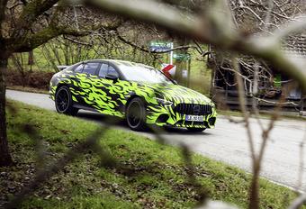 Mercedes-AMG GT 4-deurs: nieuwe beelden #1