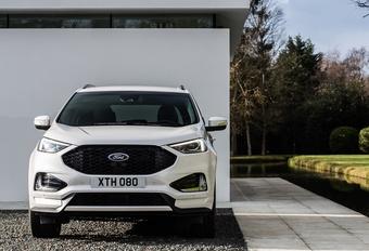 Vernieuwde Ford Edge beleeft Belgische première op SUV Days #1