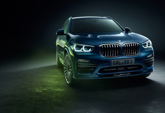 Alpina XD3 is een BMW X3 met vier turbo's #1