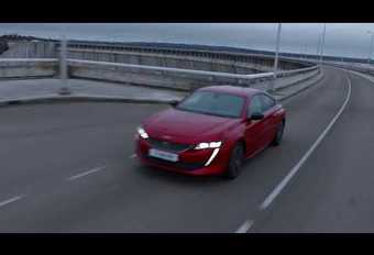 Peugeot 508 in beweging #1