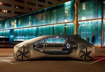 Gims 2018 – Renault EZ-Go : le robot-taxi urbain et partagé #1