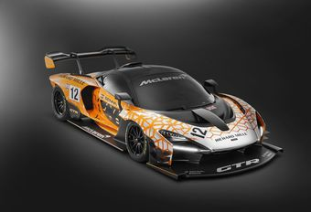 GimsSwiss – McLaren Senna GTR Concept : 1000 kg… d'appui ! #1