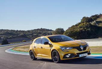 Les 4 roues directrices de la Renault Mégane R.S. #1