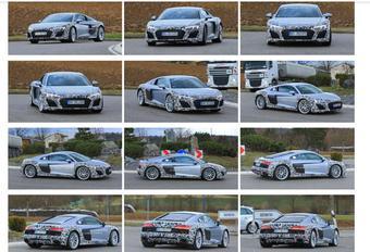 Audi R8 restylée : un V6 au programme ! #1