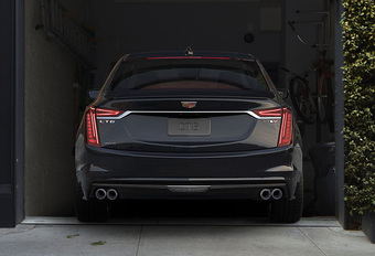 Cadillac CT6 V-Sport heeft krachtige V8-biturbo onder de motorkap #1
