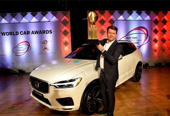 Volvo XC60 is World Car of the Year 2018 #1