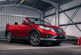 Honda : le CR-V… en cabriolet ? #1