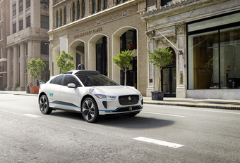 Jaguar en Waymo (Google) laten de I-Pace zelf rijden #1
