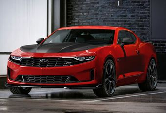 Chevrolet Camaro 2019 in avant-première onthuld #1