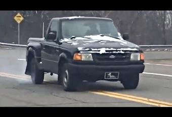 Petit délire organisé avec un Ford Ranger  #1