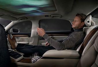 Salon de Pékin 2018 - Volvo S90 Ambience Concept : luxe à 3 places #1