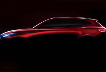 Salon van Peking 2018 – MG X-Motion: terugkeer met een SUV #1