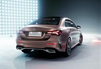 Voorbode CLA: Mercedes A-Klasse L Sedan #1