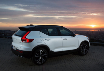 Volvo XC40 kroont zich tot Lease Car of the Year 2018 #1