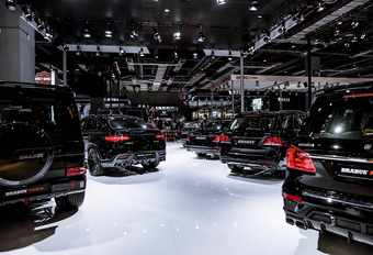 Mercedes-tuner Brabus in 5 legendarische modellen #1