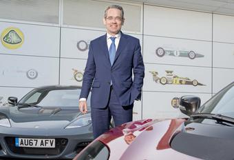 Lotus krijgt nieuwe CEO #1