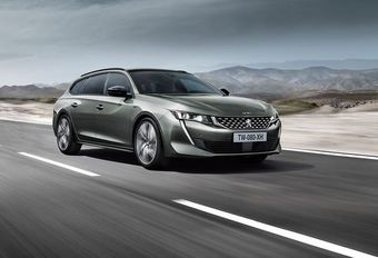 Peugeot 508 SW: break zonder raamkaders #1
