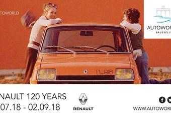 Les 120 ans de Renault à Autoworld #1