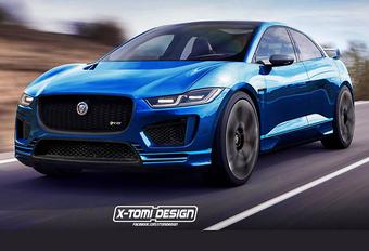 Jaguar denkt aan I-Pace SVR #1