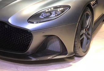 Aston Martin DBS Superleggera: foto uitgelekt #1