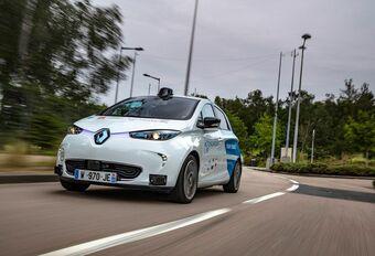 Quatre Renault Zoe autonomes en service au sud de Rouen #1