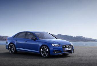 Audi A4 poedert neus en kont bij #1