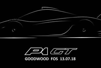 McLaren P1 GT : modèle unique à Goodwood #1