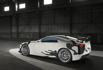 Wat doet deze Lexus LFA Art Car op de 24 Uur van Spa? #1