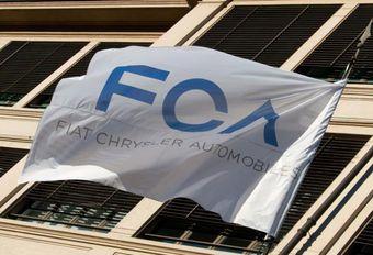 Chute de l'action FCA #1