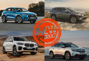 Verwacht - de SUV-sterren van 2018 en 2019 #1