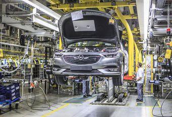 Opel réduit la voilure de certaines usines #1